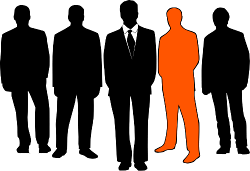 Men in Black Orange
